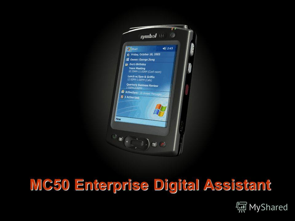 MC50 Enterprise Digital Assistant
