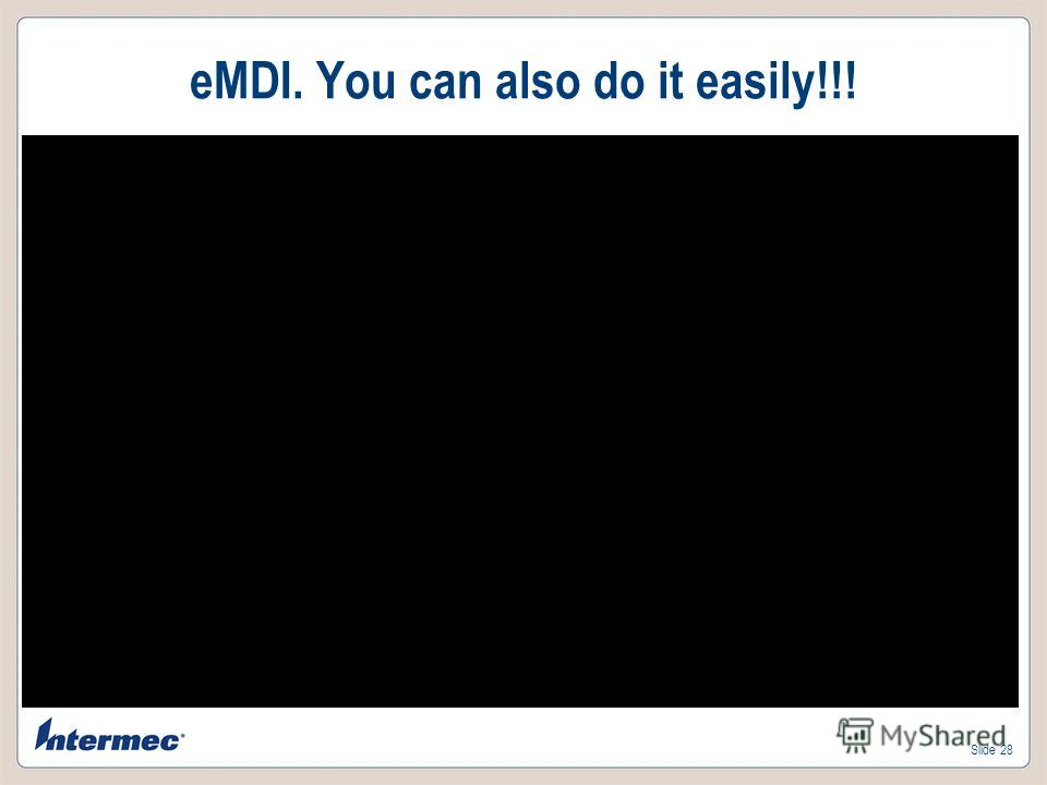Slide 28 eMDI. You can also do it easily!!!