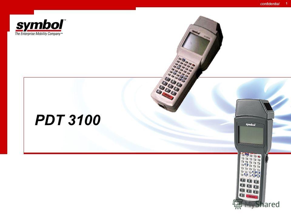 confidential 1 PDT 3100