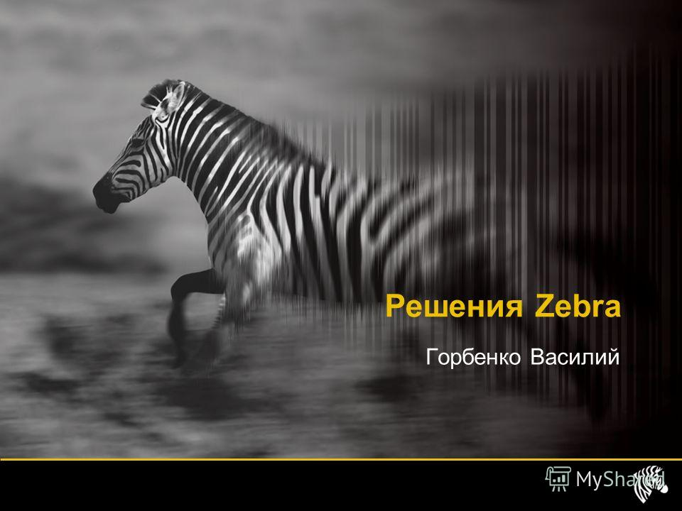 Горбенко Василий Решения Zebra