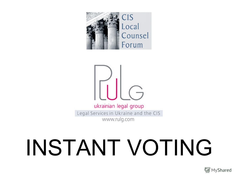 INSTANT VOTING