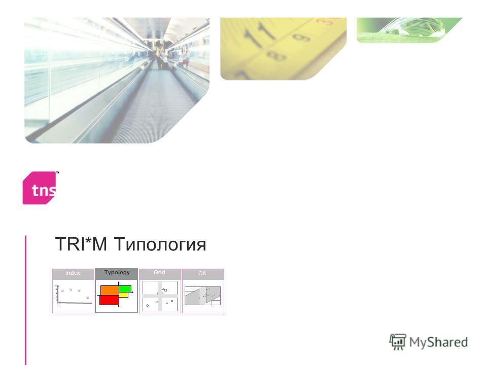 TRI*M Типология Grid Index 30 68 70 65 0 20 40 60 80 100 CA Typology