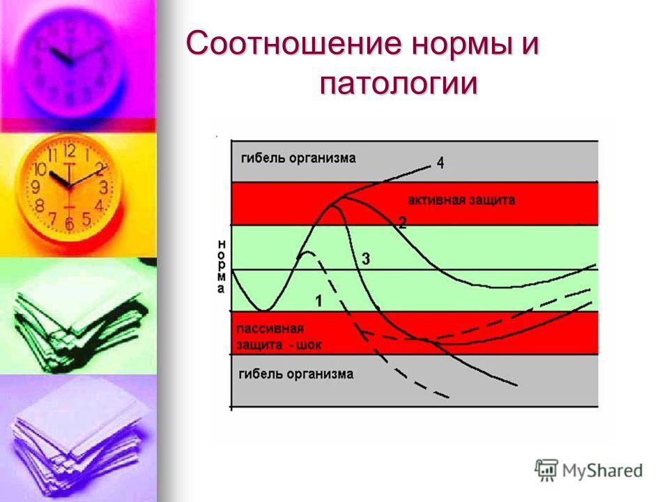 Соотношение нормы и патологии