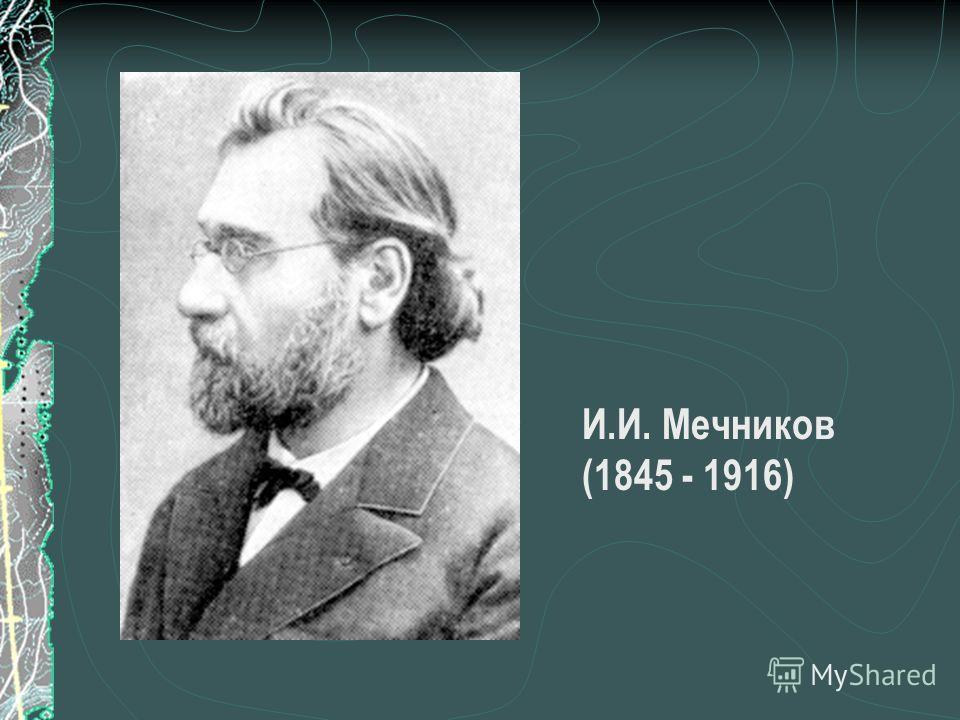 И.И. Мечников (1845 - 1916)