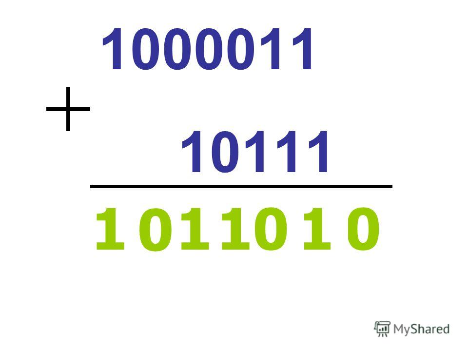 1000011 10111 101 1 0 1