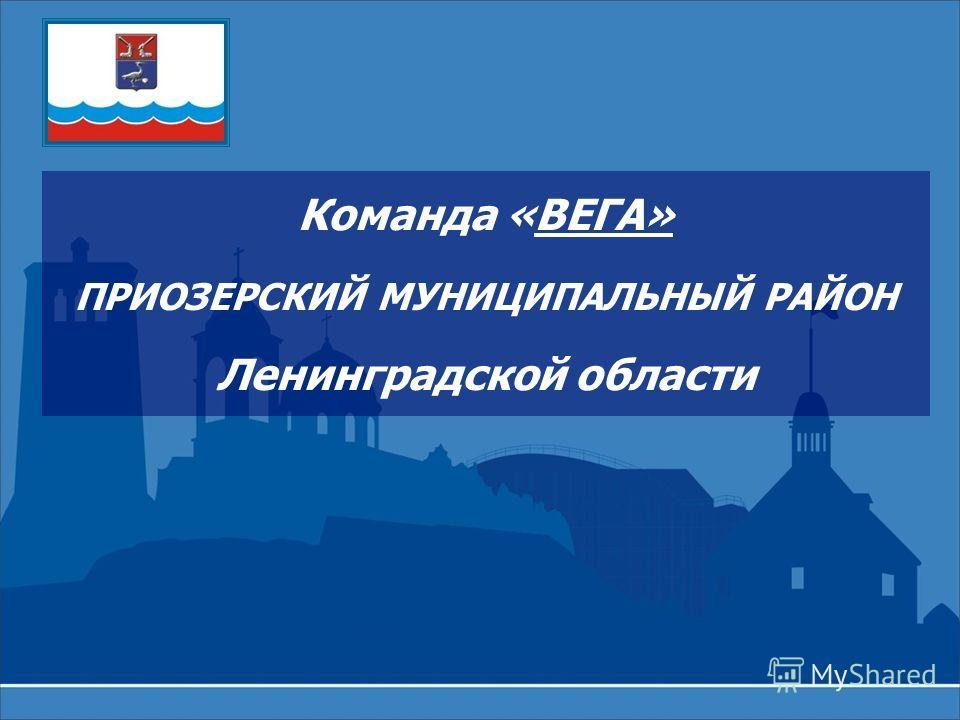 Команда «ВЕГА» ПРИОЗЕРСКИЙ МУНИЦИПАЛЬНЫЙ РАЙОН Ленинградской области