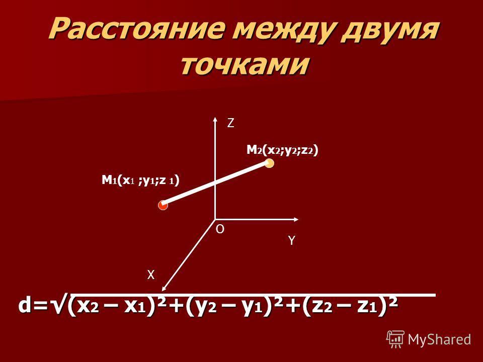 Модуль вектора равен корню квадратному из суммы квадратов его координат равен корню квадратному из суммы квадратов его координат