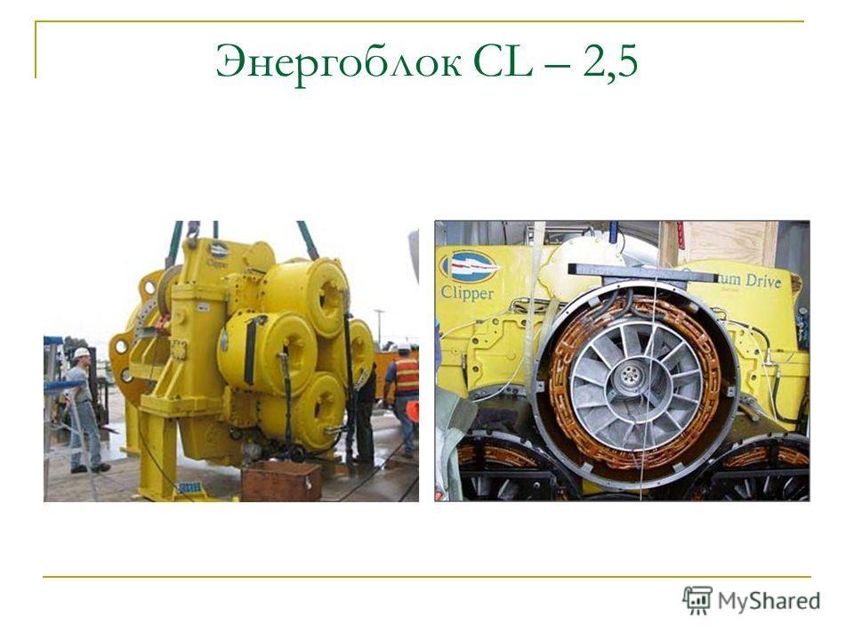 Энергоблок CL – 2,5