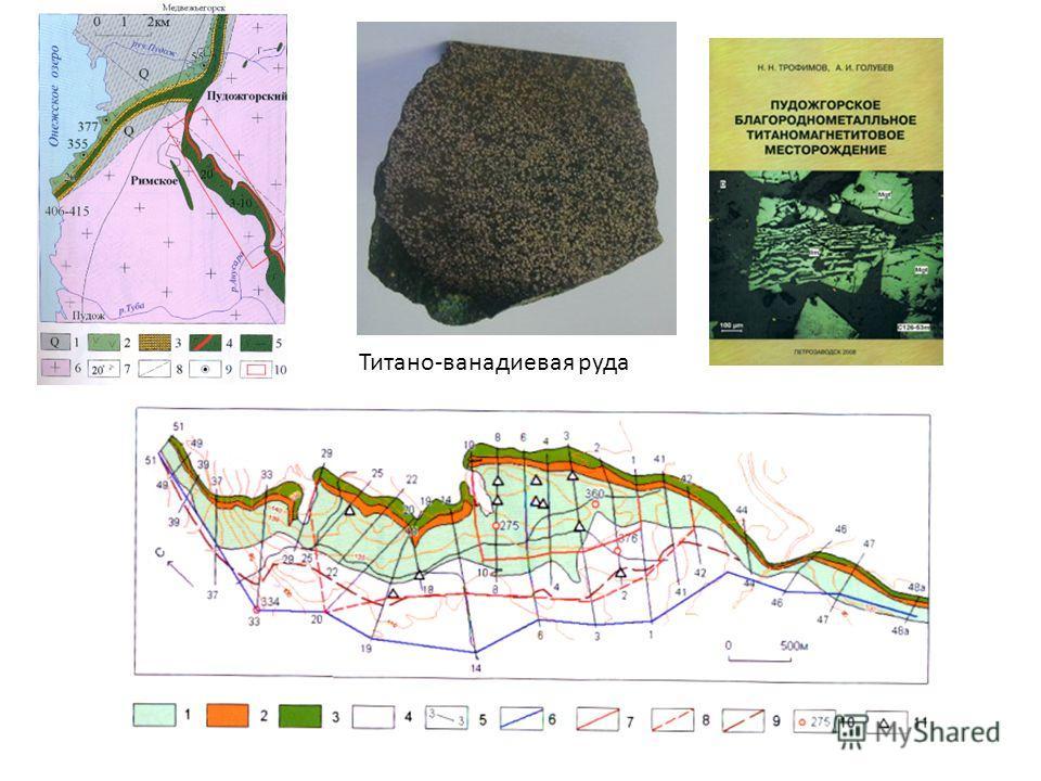 Титано-ванадиевая руда