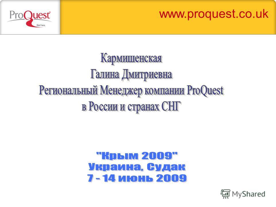 www.proquest.co.uk