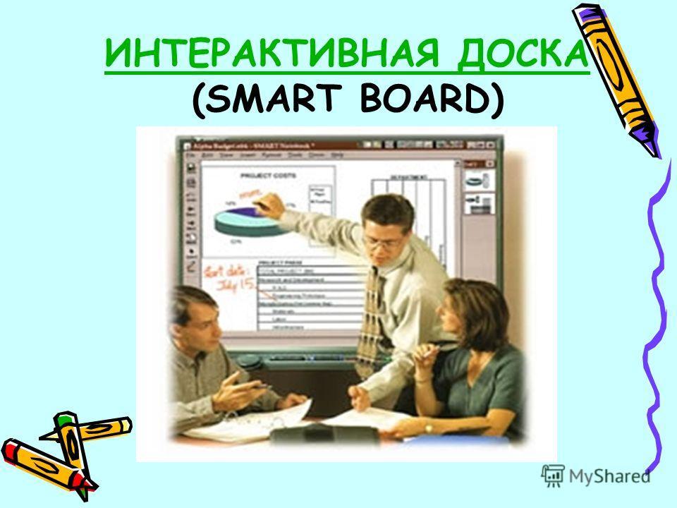 ИНТЕРАКТИВНАЯ ДОСКА ИНТЕРАКТИВНАЯ ДОСКА (SMART BOARD)