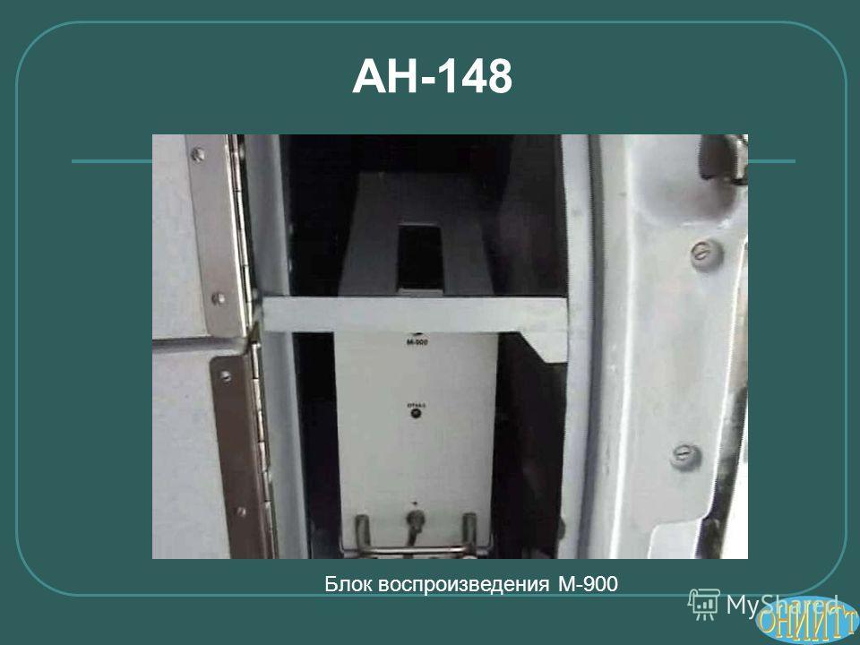АН-148 Блок воспроизведения М-900