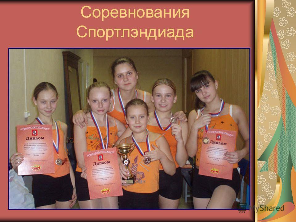 Соревнования Спортлэндиада