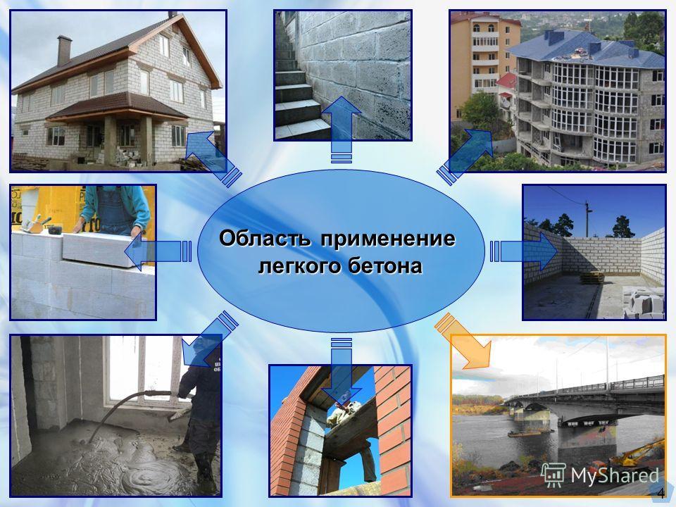 Область применение легкого бетона 4