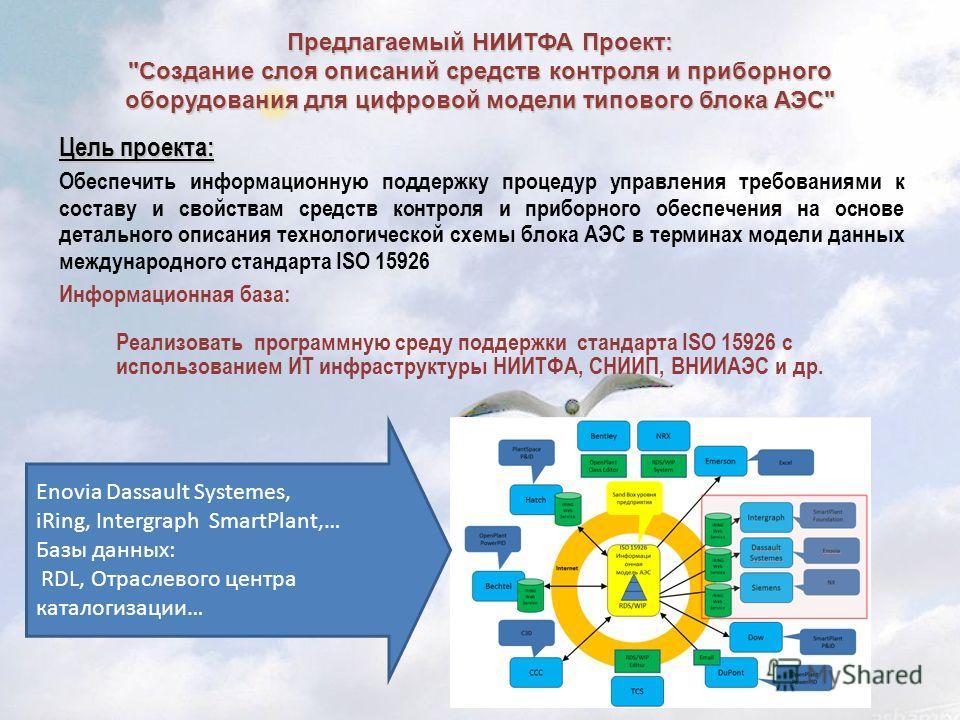 Предлагаемый НИИТФА Проект: