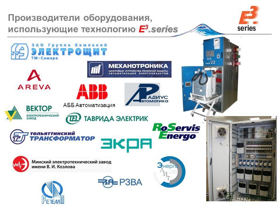 © Zuken E 3.series Производители оборудования, использующие технологию E 3.series АББ Автоматизация