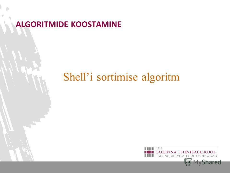 Lihtne sortimise algoritm, saab edukalt kasutada eksreemumite leidmiseks < MAKSIMUM Analoogselt saab üheläbivaatusega leida MIINIMUMi