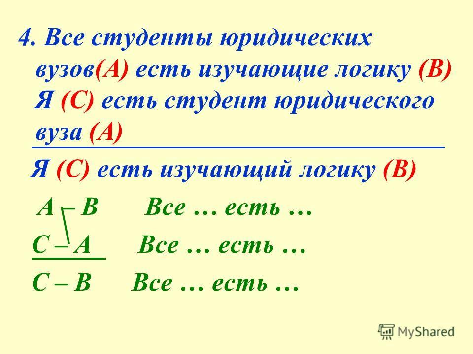 Ответы: 1. Я (А) есть любящий грозу в начале мая (В). Все А есть В 2. а) Все льстецы (А) есть те, кого глупо слушать (В). Все А есть В б) Все слушающие льстецов (А) есть глупцы (В). Все А есть В 3. Все посетившие сей мир в его минуты роковые (А) есть