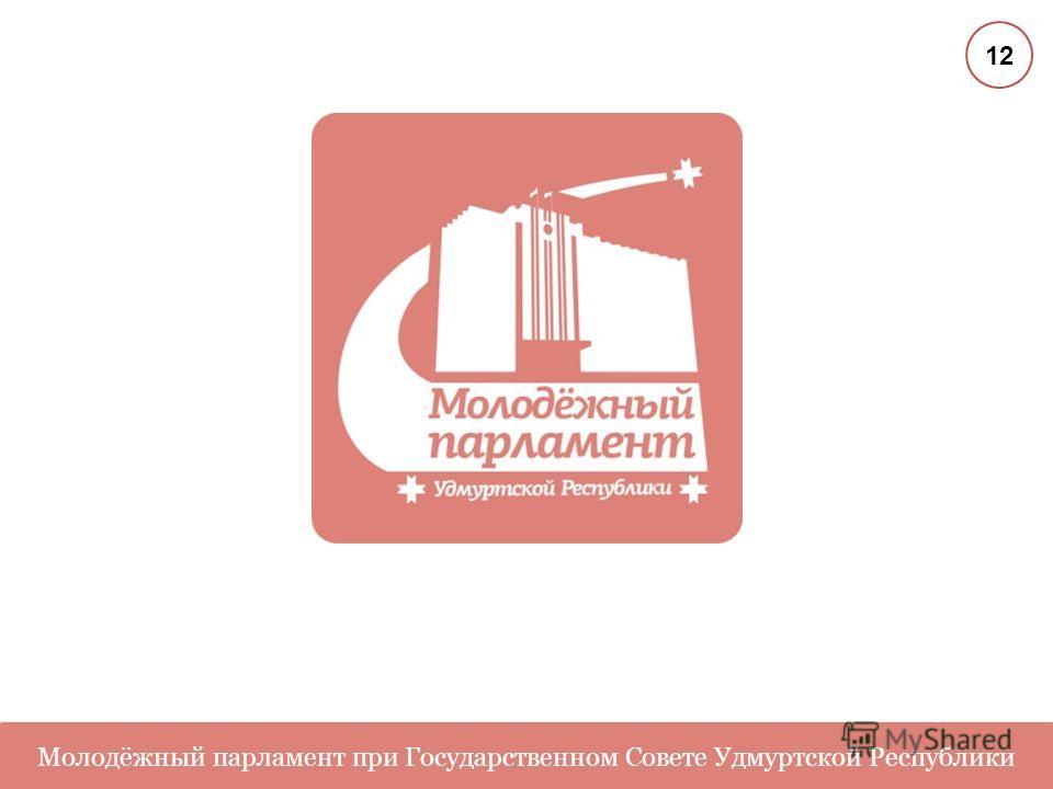 Молодёжный парламент при Государственном Совете Удмуртской Республики 12