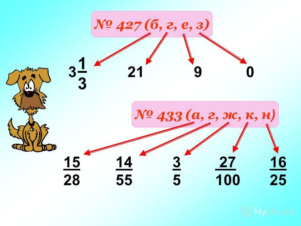 427 (б, г, е, з) 1313 3 2190 433 (а, г, ж, к, н ) 15 28 14 55 3535 27 100 16 25