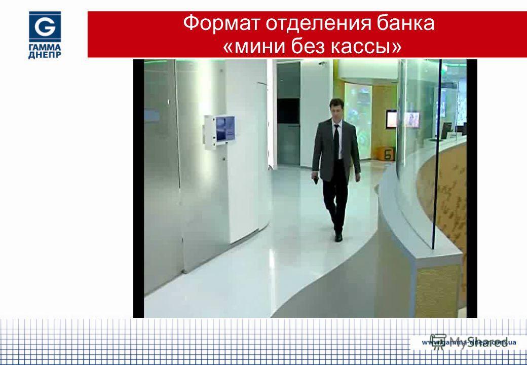 Формат отделения банка «мини без кассы»