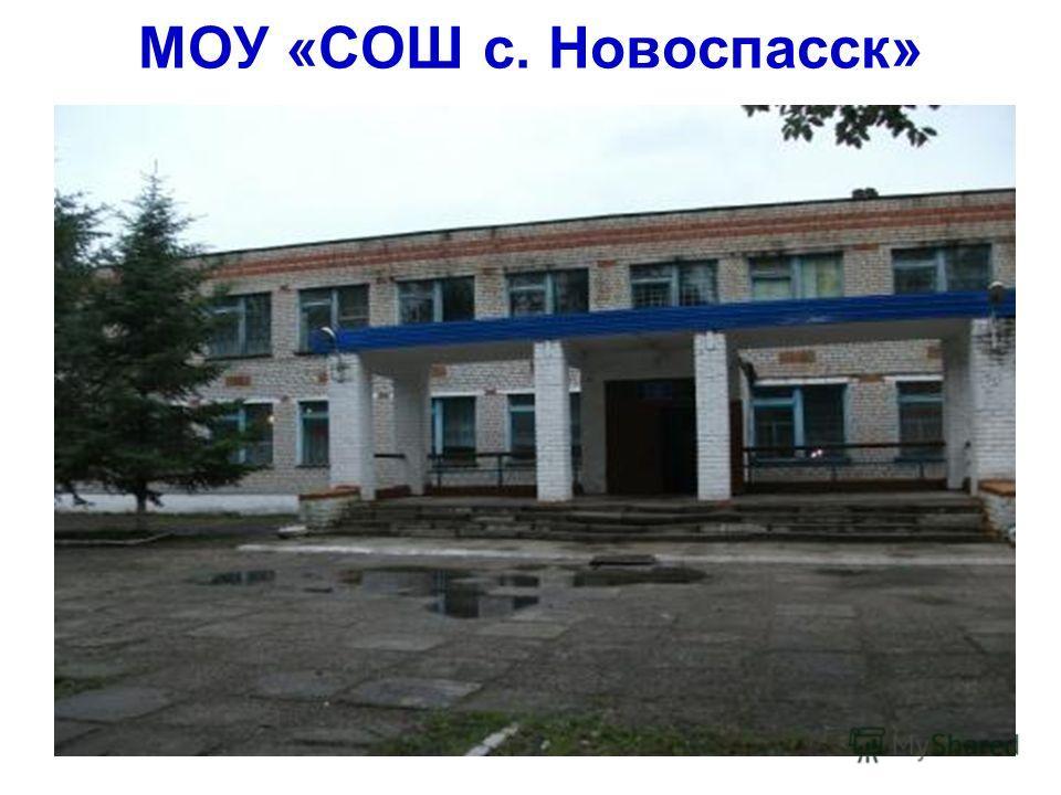 МОУ «СОШ с. Новоспасск»