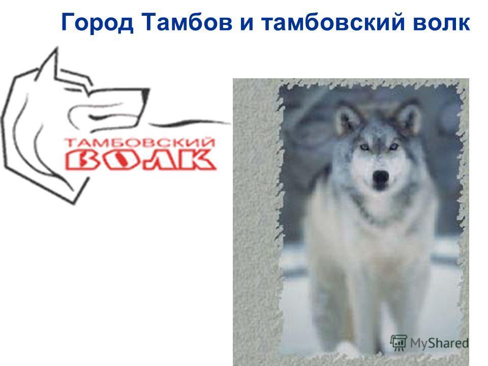 Город Тамбов и тамбовский волк