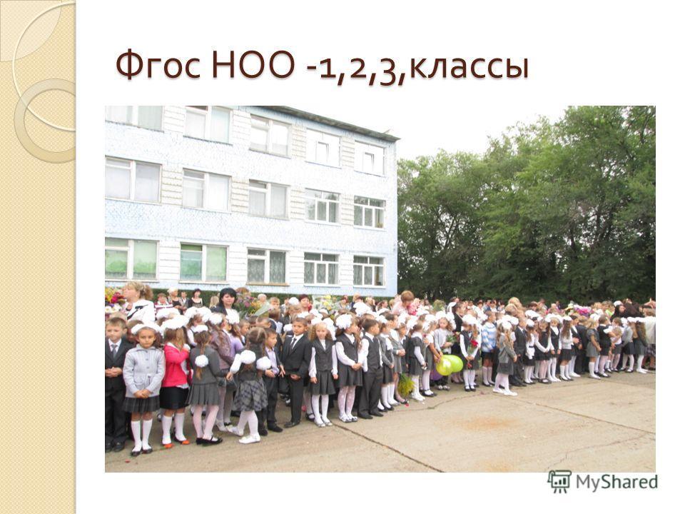 Фгос НОО -1,2,3, классы