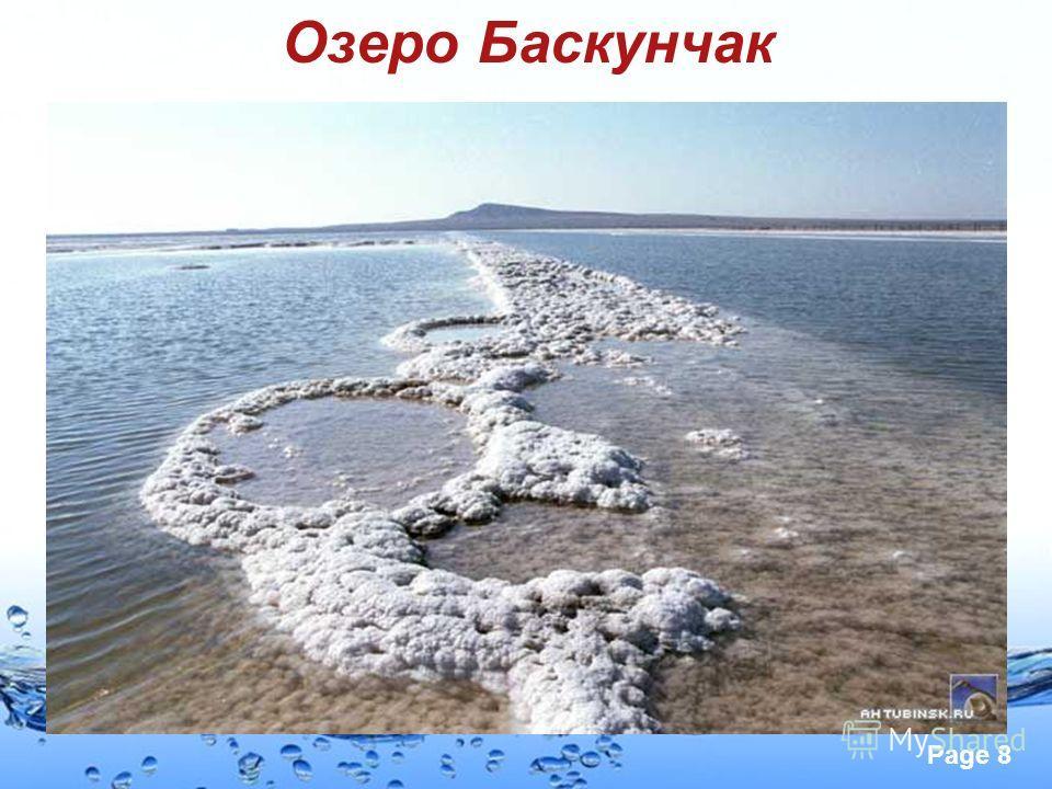 Page 8 Озеро Баскунчак