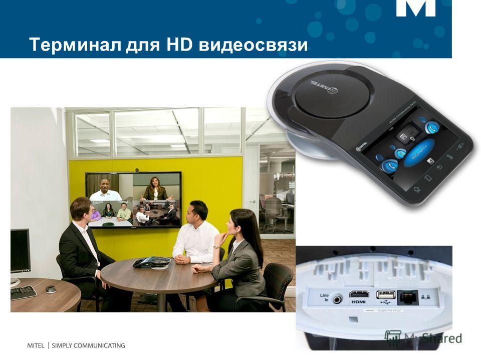 Терминал для HD видеосвязи