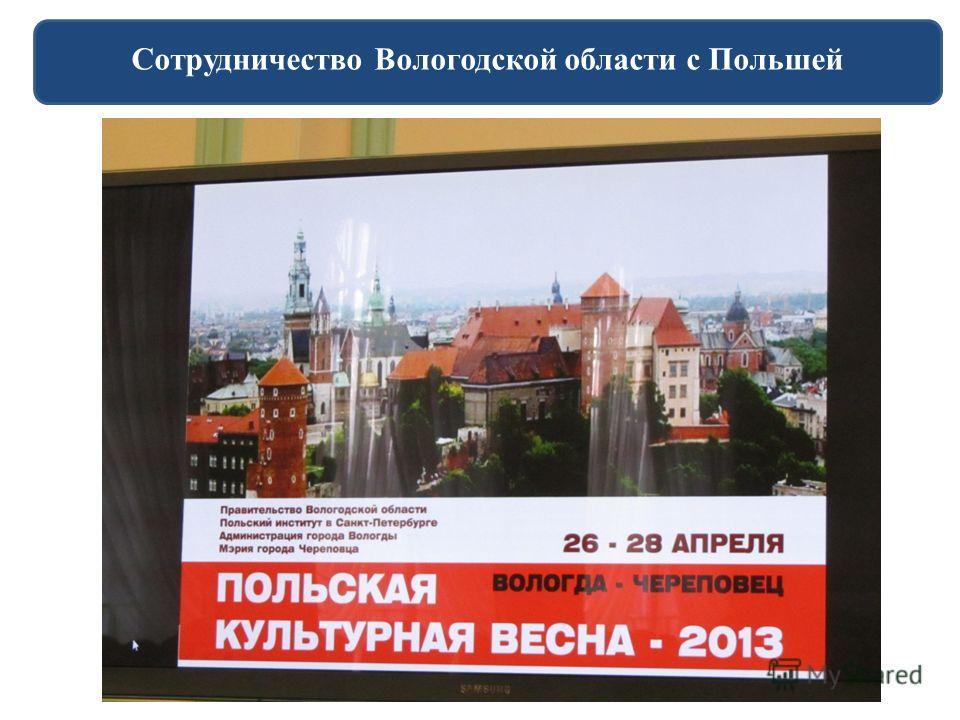 Сотрудничество Вологодской области с Польшей