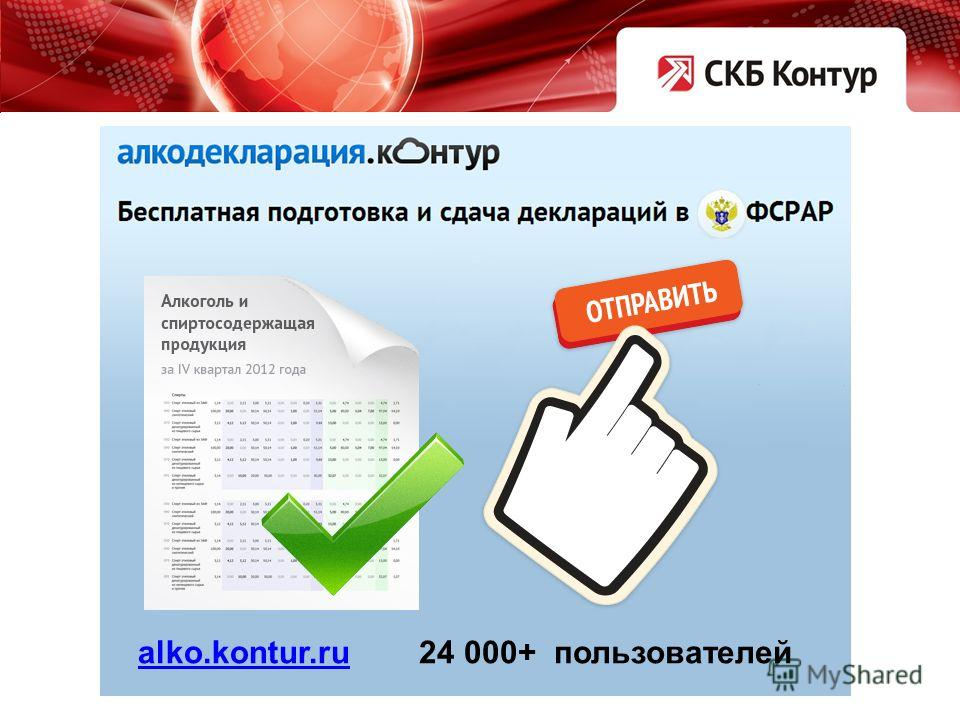 alko.kontur.ru 24 000+ пользователей