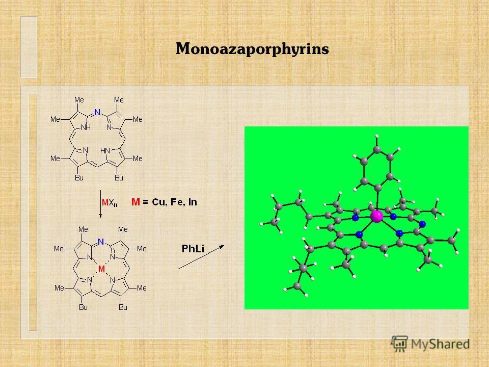 Monoazaporphyrins