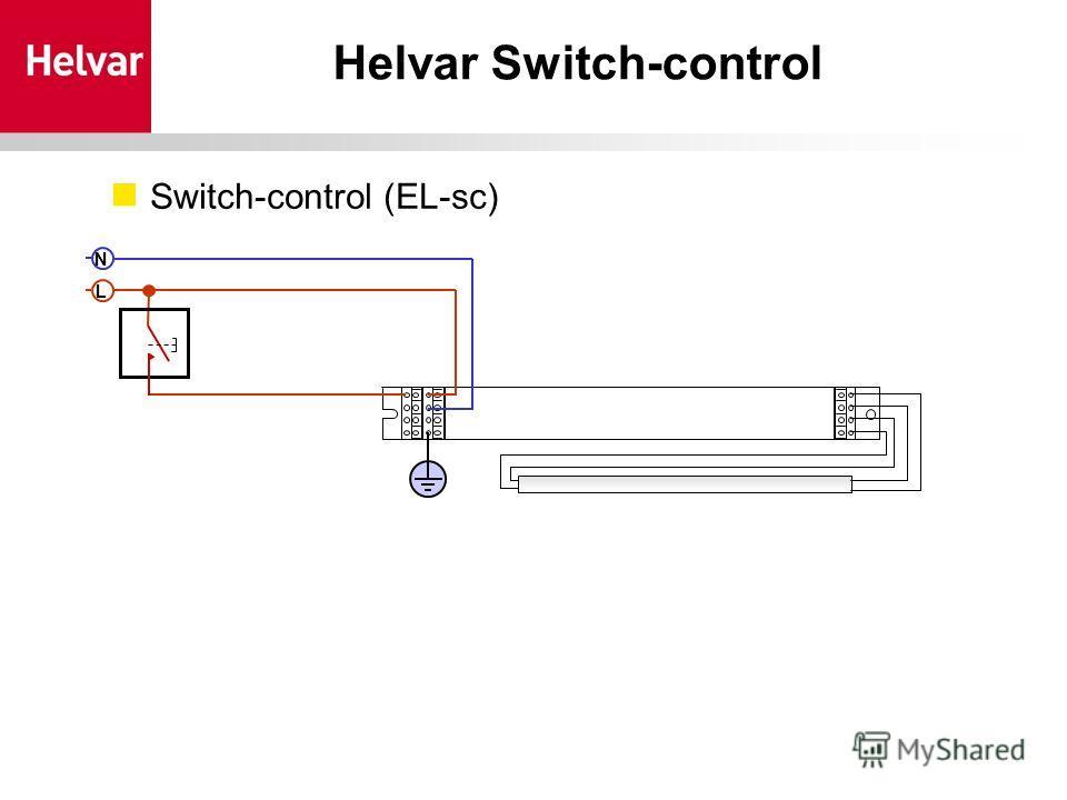 Helvar Switch-control Switch-control (EL-sc) LN