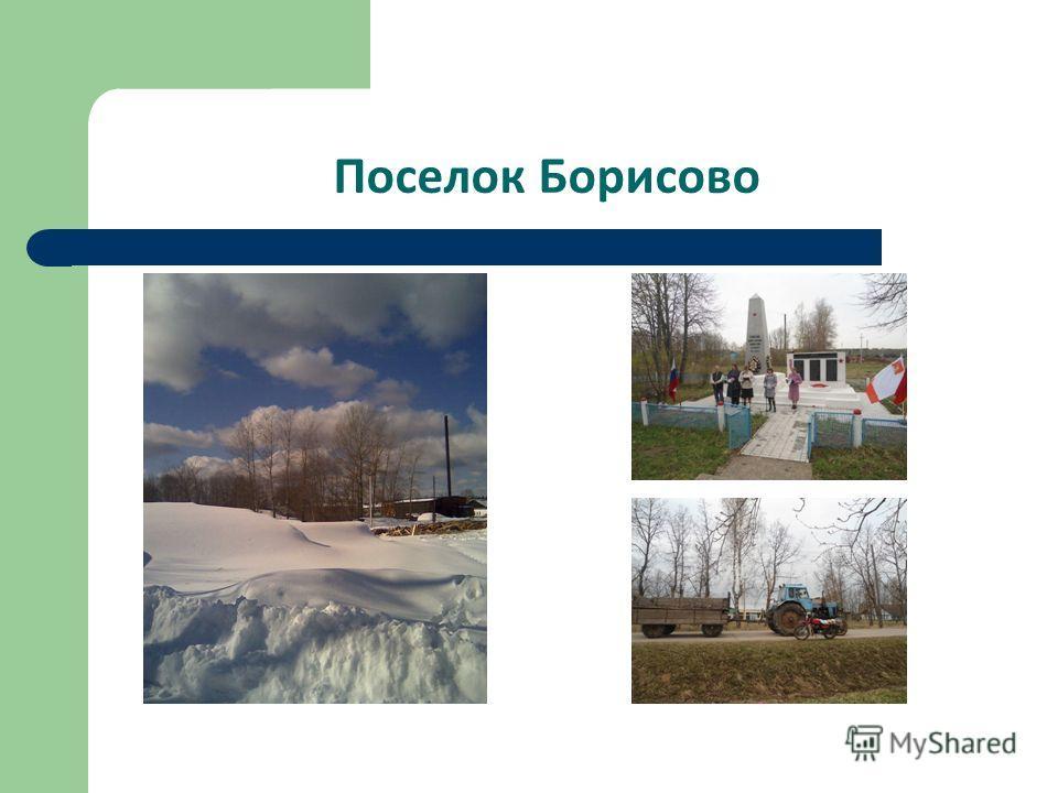 Поселок Борисово