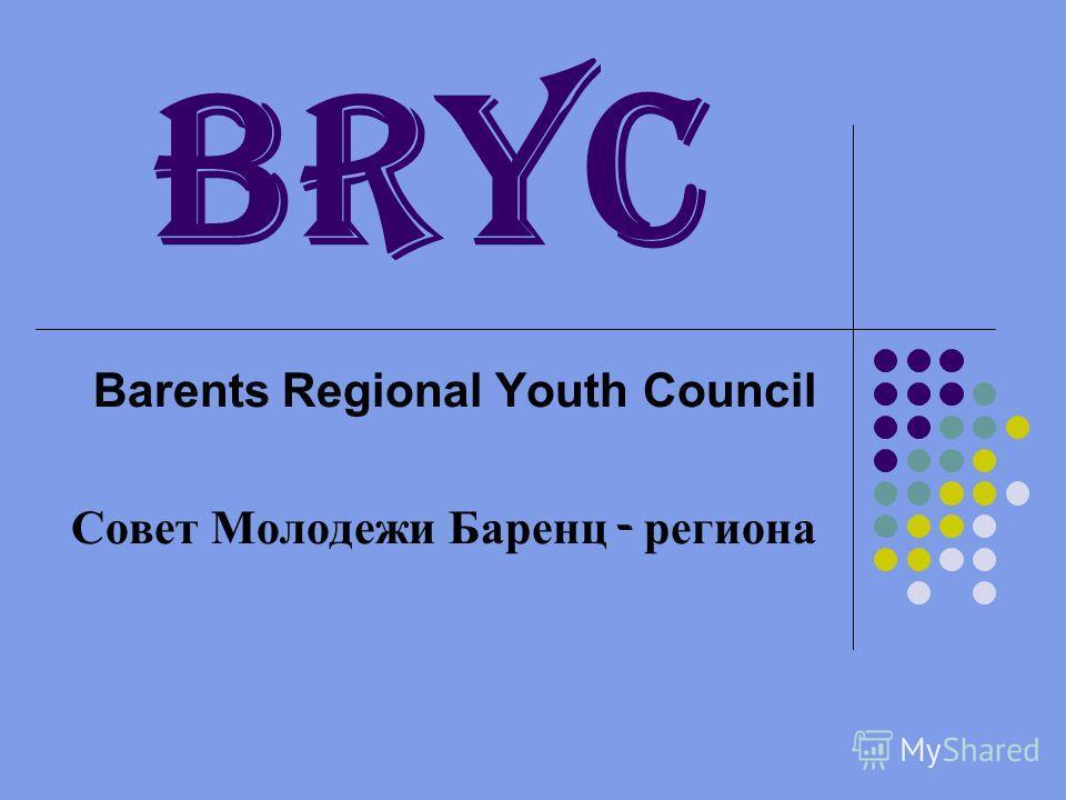 BRYC Barents Regional Youth Council Совет Молодежи Баренц - региона
