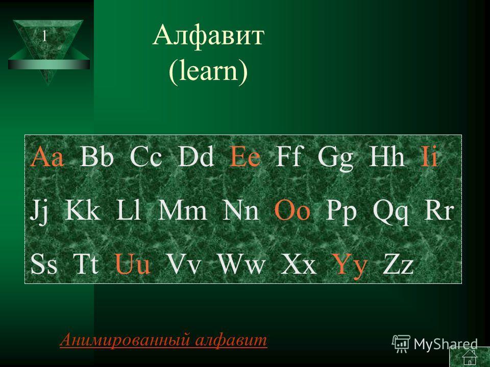ENGLISH FOR BEGINNERS ENGLISH FOR BEGINNERS Английский для начинающих - Алфавит Алфавит - ЦифрыЦифры - ЦветаЦвета - Времена годаВремена года - МесяцыМесяцы