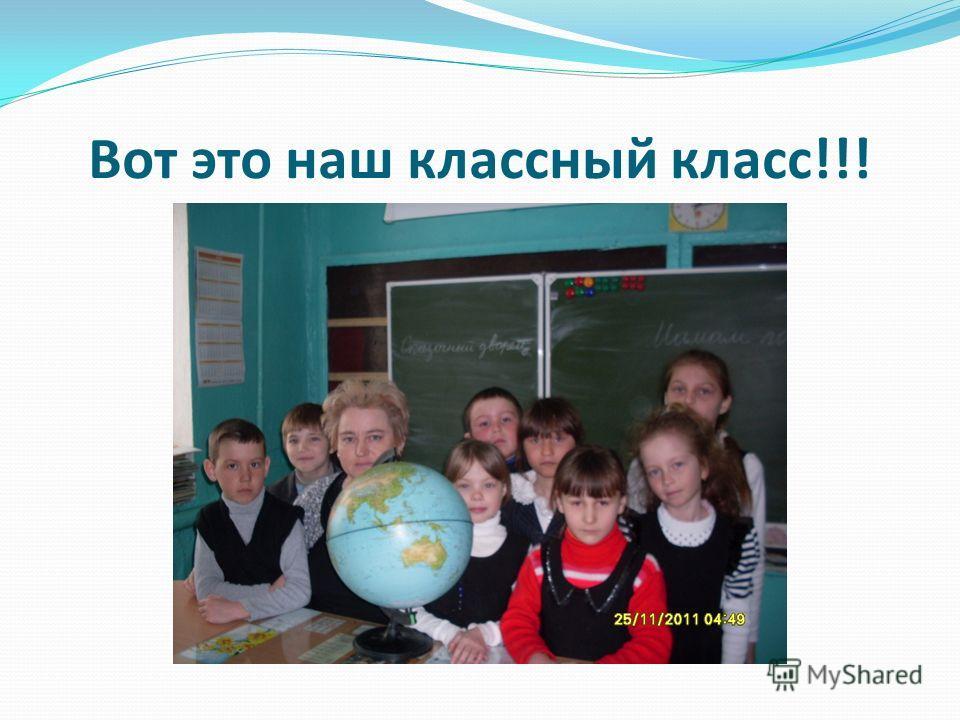 Вот это наш классный класс!!!