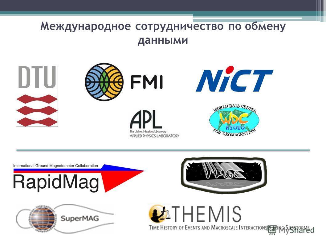 Международное сотрудничество по обмену данными