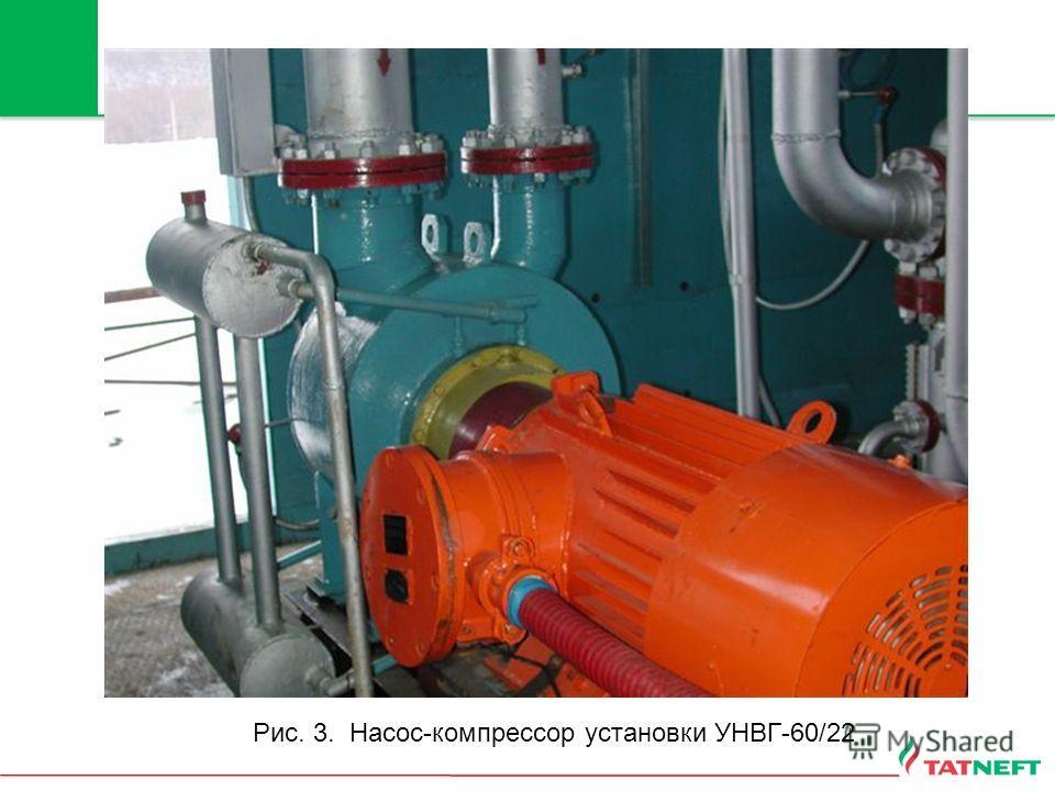 Рис. 3. Насос-компрессор установки УНВГ-60/22