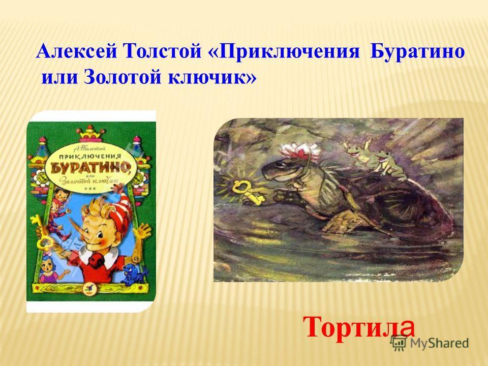Алексей Толстой «Приключения Буратино или Золотой ключик» Тортил а