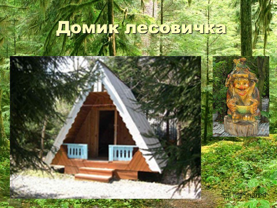 Домик лесовичка