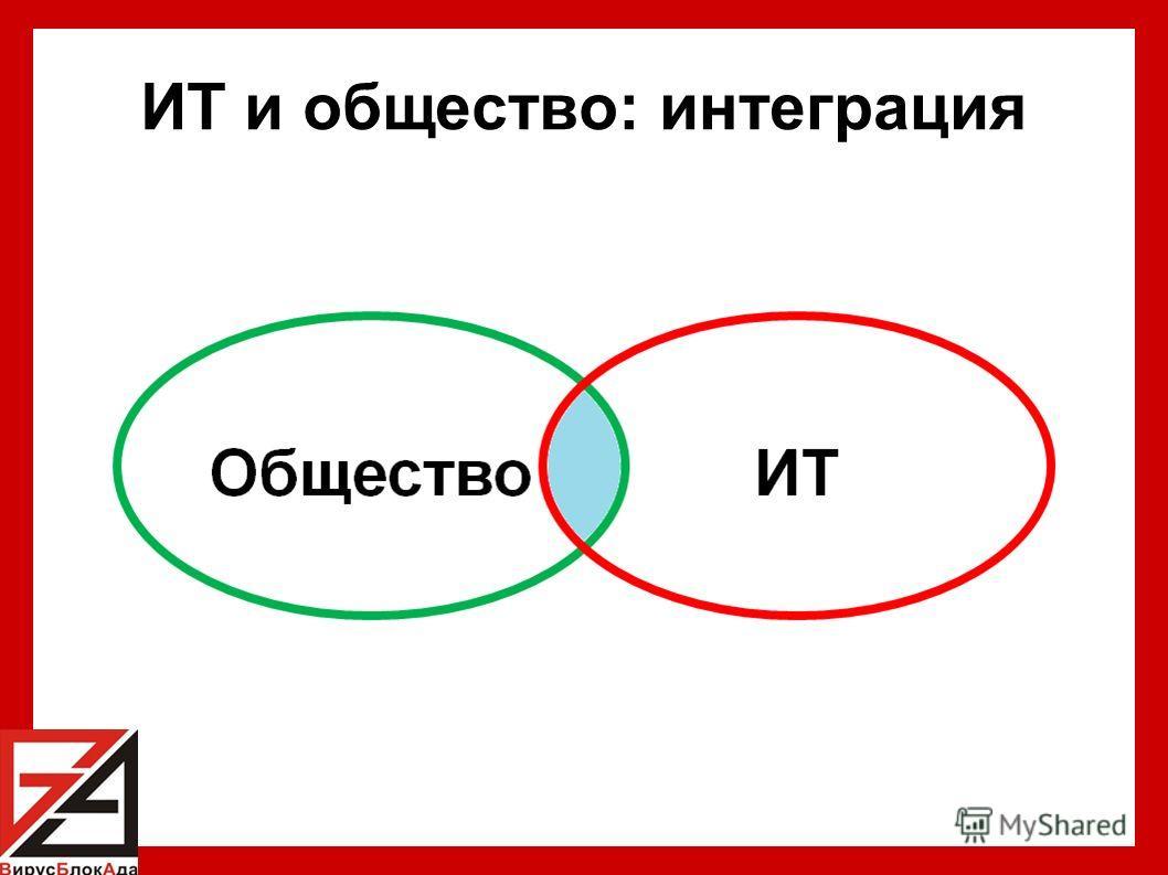 ИТ и общество: интеграция
