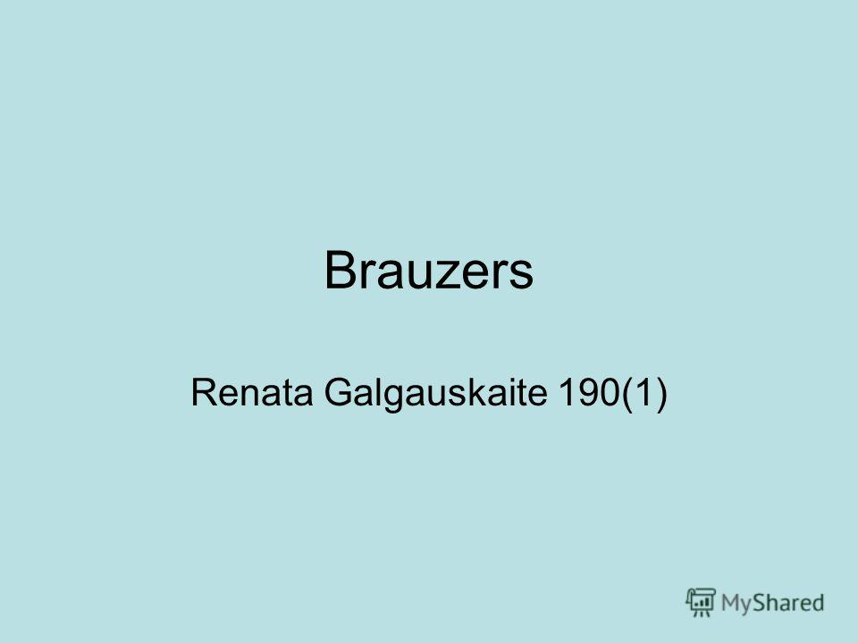 Brauzers Renata Galgauskaite 190(1)