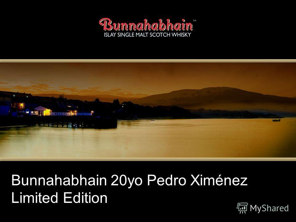 Bunnahabhain 20yo Pedro Ximénez Limited Edition