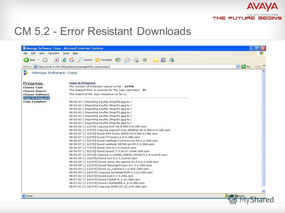 The Future Begins CM 5.2 - Error Resistant Downloads