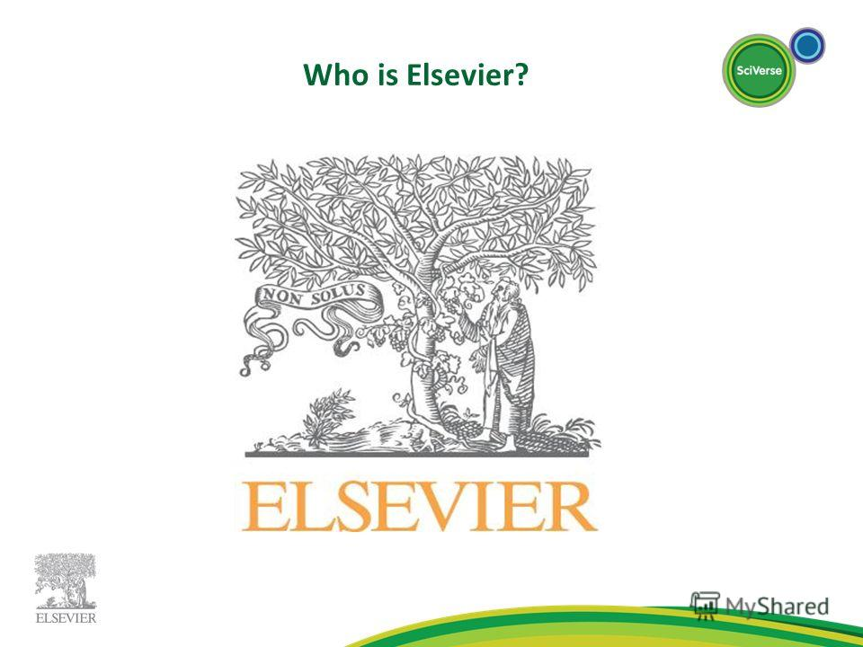 Who is Elsevier?