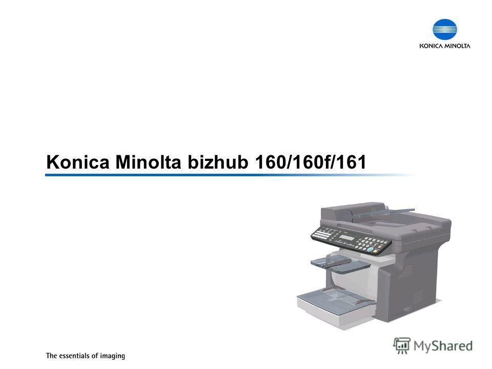 Konica Minolta bizhub 160/160f/161