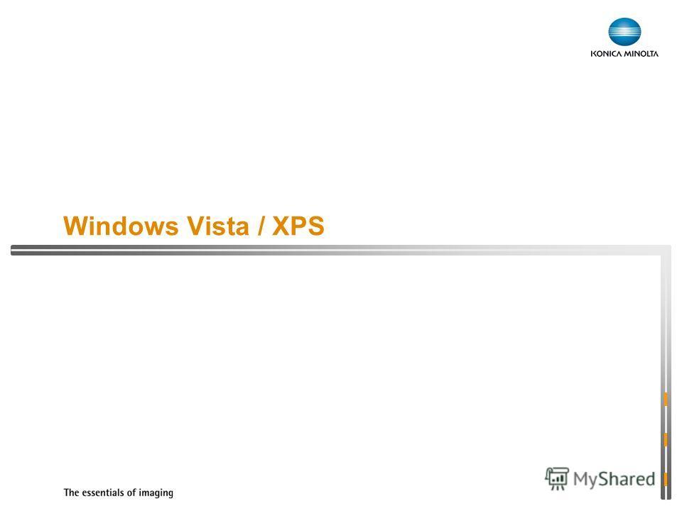 Windows Vista / XPS