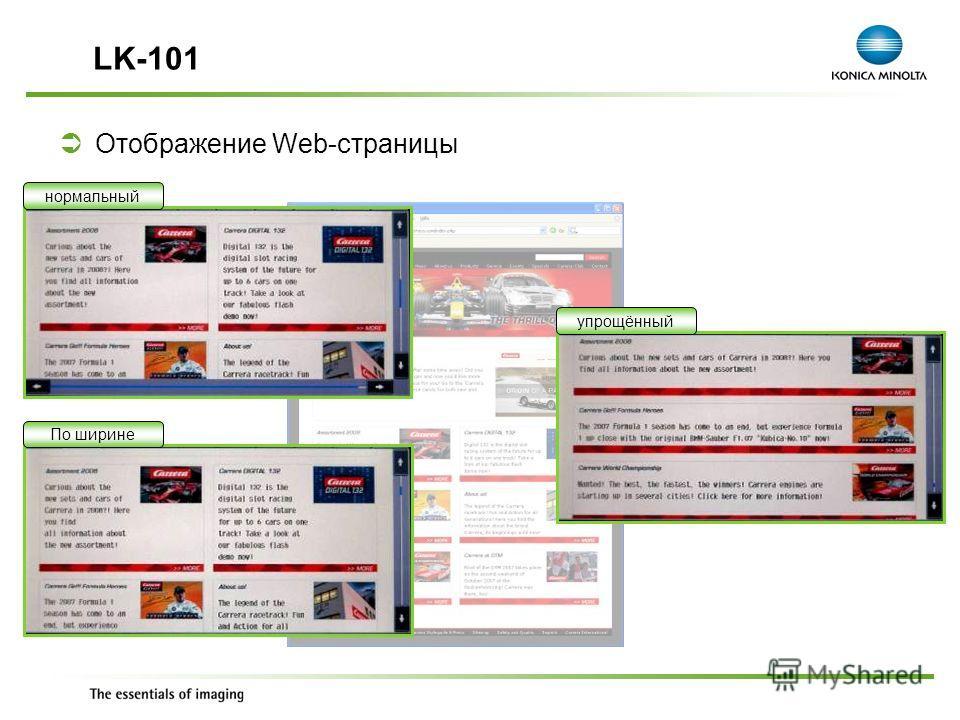 Exchange Meeting Jan 06 – Lars Moderow Отображение Web-страницы LK-101 нормальныйПо ширинеупрощённый